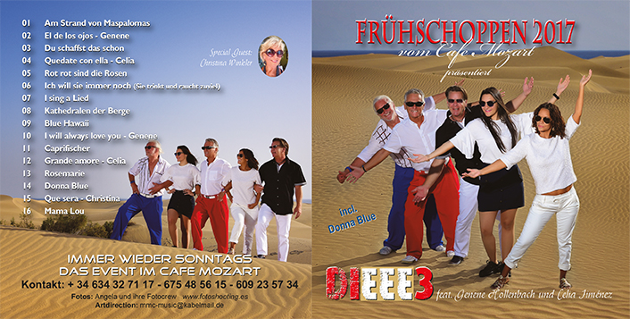 CD Cover Produktion