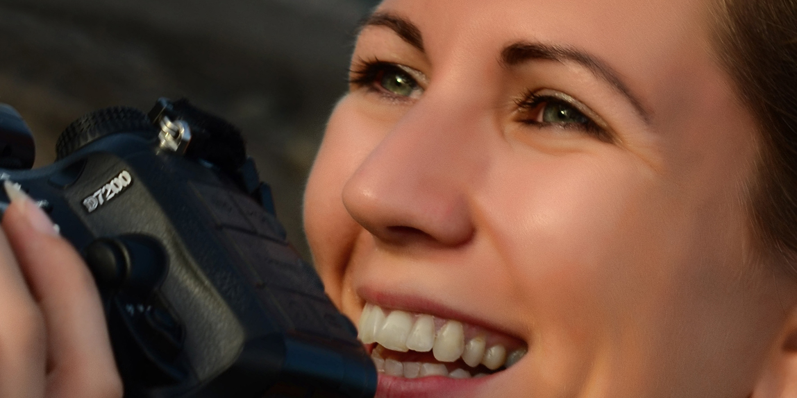 Schnappschuss beim Fotoshooting